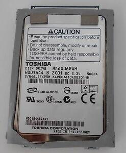 TOSHIBA-PORTEGE-R200-MK6006GAH-HD-IDE-60GB-1-8-034-TESTATO