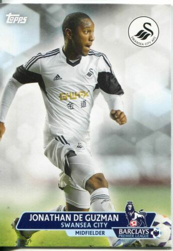 Premier Gold Soccer 13//14 BASE CARD #84 Jonathan DE GUZMAN