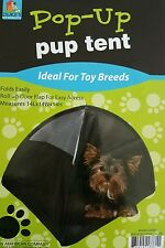 Dog C&ing Small Tent Nylon Cat Pets Bed Pop Up Holiday Season 14 inch w/  sc 1 st  eBay & Pop up Pup Tent for Small Dogs - 14 | eBay