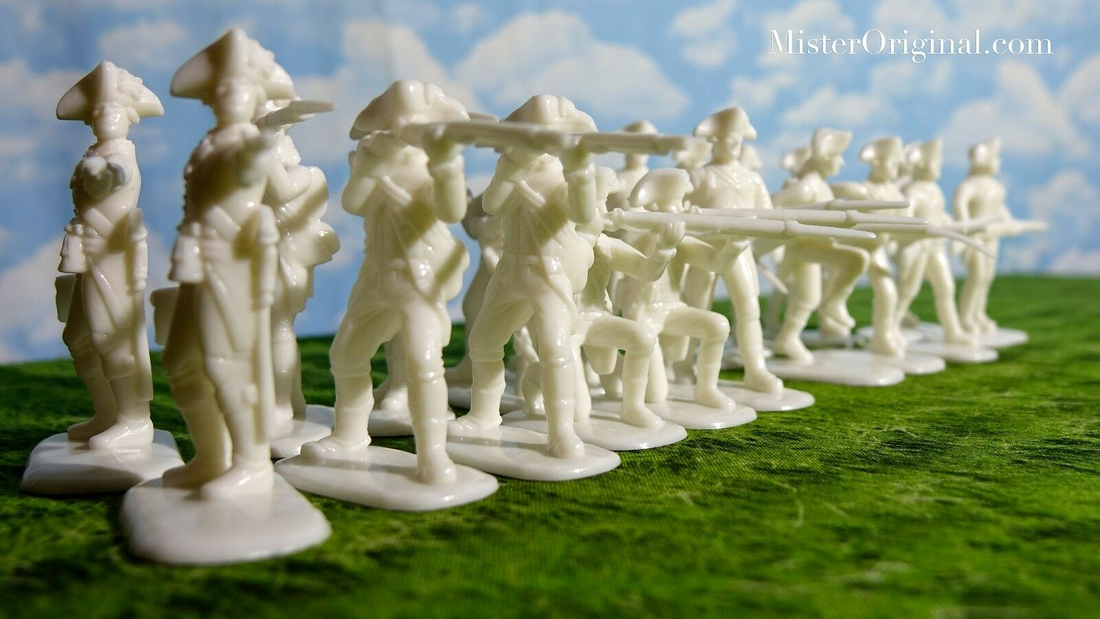 132 Armies in Plastic 5 Mounted American Revolution French Cavalry