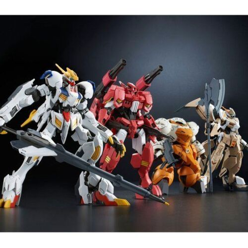 Bandai HG GUNDAM IRON BLOODED ORPHANS TEKKADAN Complete Set 1:144 Model Kit