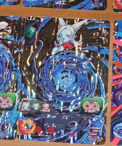 DRAGON BALL Z DBZ DBS HEROES CARD PRISM HOLO CARTE SH3-CP5 CP SR JAPAN MINT
