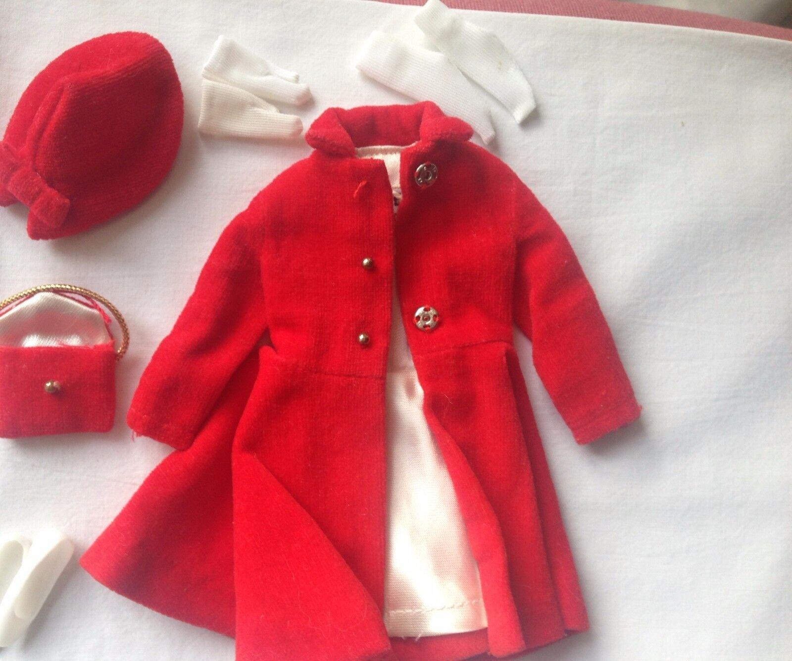 fino al 42% di sconto ORIGINAL BARBIE VINTAGE CLOTH - - -     1906 SKIPPER  Dress Coat  il più economico