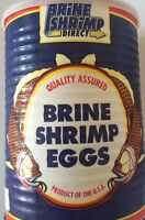 Baby Brine Shrimp Eggs Artemia Cysts 90% Hatch Rate 01 Oz, 2 Oz Free Shiping