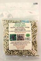 Organic Tongkat Ali 350mg X1000 Capsules - Bio - Eurycoma Longifolia - Longjack