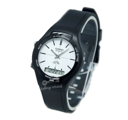1 of 1 - -Casio AW90H-7E Dual Time Watch Brand New & 100% Authentic