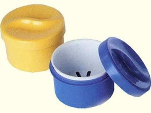 Zahnspangendose Gebissdose mit Einsatz von Sonja Plastic