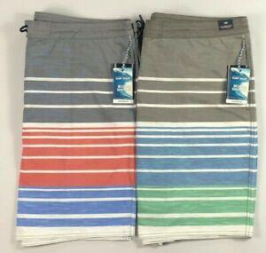 Men-039-s-Big-amp-Tall-Roundtree-amp-Yorke-Board-Shorts-Swimwear