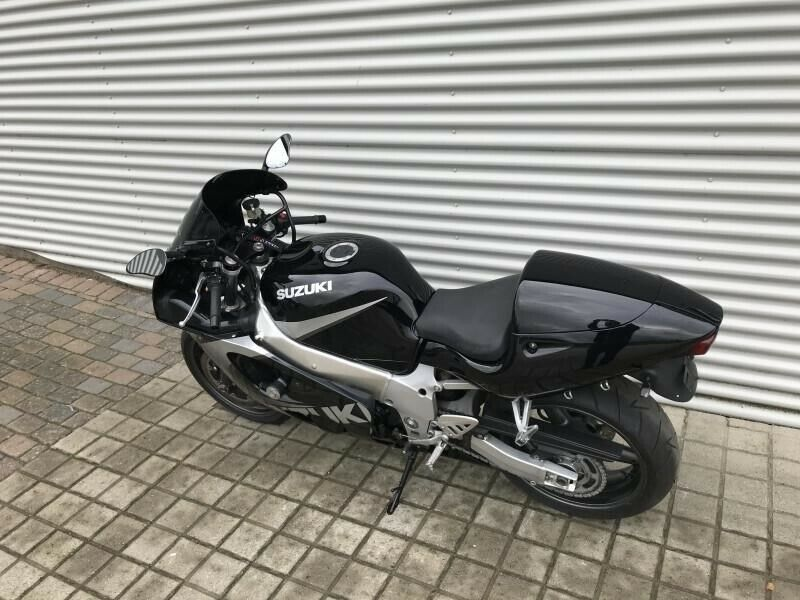 Suzuki, GSXR 600, ccm 599