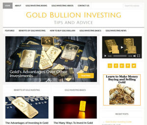 GOLD-INVESTING-affiliate-website-business-for-sale-w-AUTO-UPDATING-CONTENT