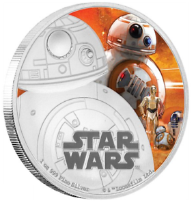 2016-STAR-WARS-BB-8-1oz-Silver-Proof-Disney-Coin-Perfect-Gift-RRP-120-00
