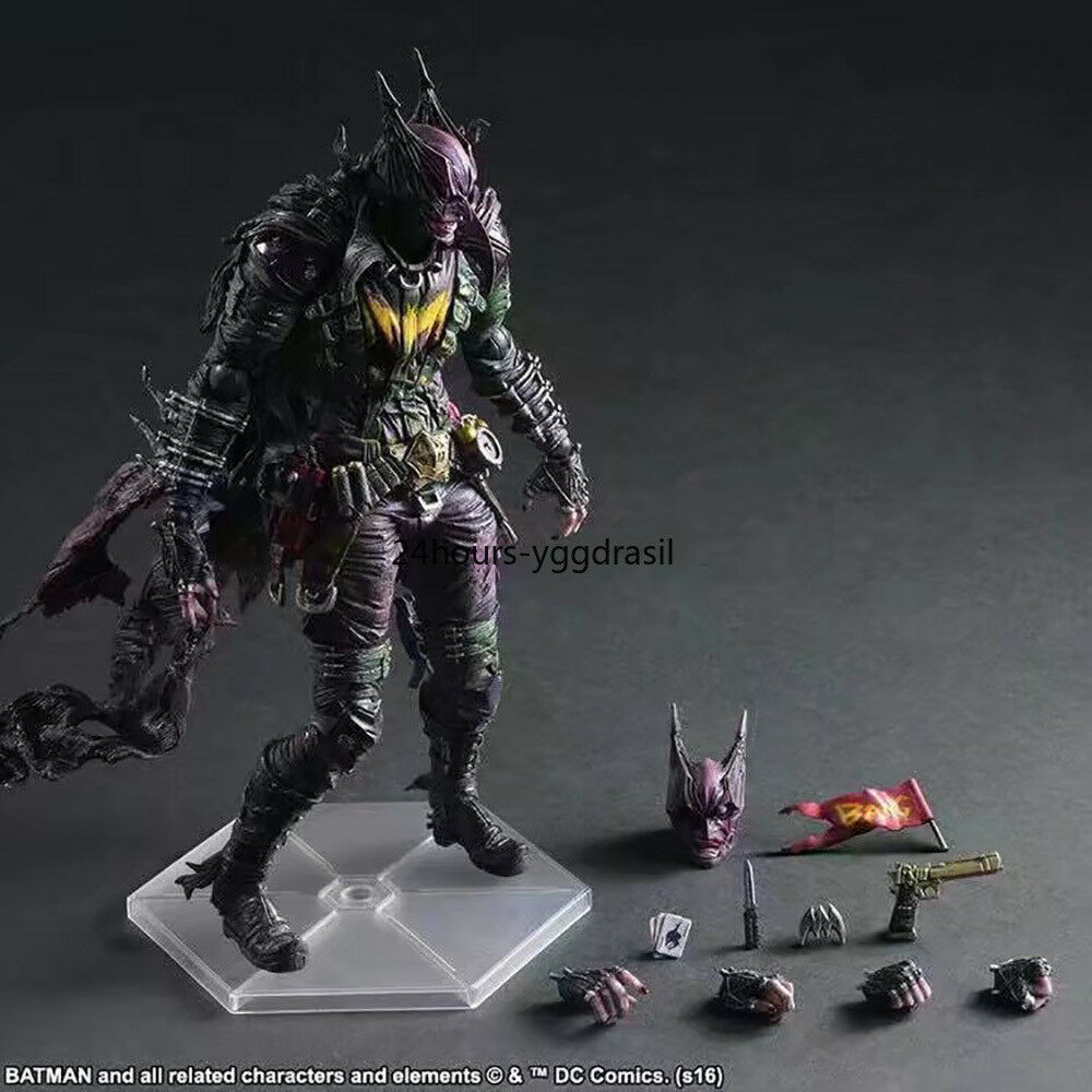 Play Arts JOKER Bat-JOKER Action Figure 11'' Toy Doll Model Model Model for Collection Hot 32de38