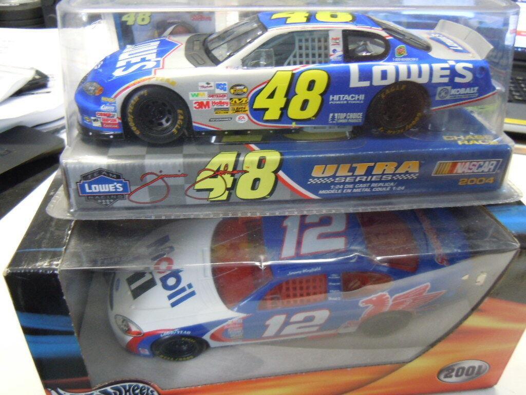 2 2 2 x NASCAR metal modelos Chevrolet Monte Carlo y Ford Taurus 1 24 nuevo 89b0e9