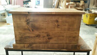 NEW SOLID WOOD RUSTIC CHUNKY BLANKET BOX, CHEST, TRUNK TOYBOX MADE TO MEASURE
