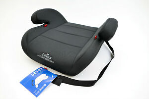 Sitzerhoehung-Twins-Autositzerhoehung-Gruppe-2-3-ab-3-5-bis-12-Jahre-schwarz