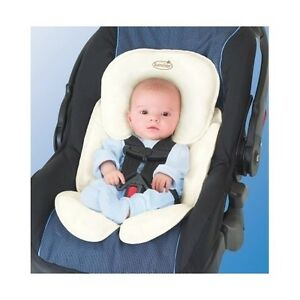 baby car seat head support pillow newborn infant safety cushion covers strollers ebay. Black Bedroom Furniture Sets. Home Design Ideas