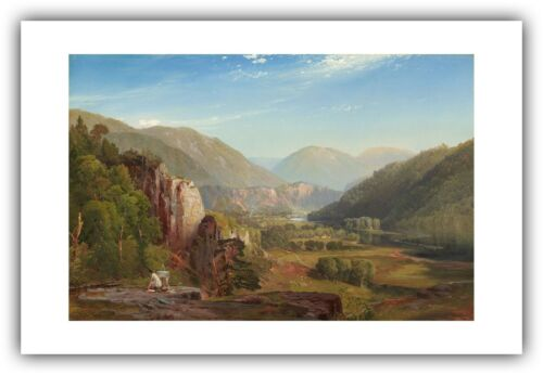 "1864 — Giclee Fine Art Print Thomas Moran : /""The Juniata Evening/"""