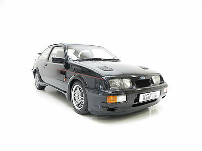 A Legendary Original Ford Sierra RS Cosworth with Just 25,768 Miles from New