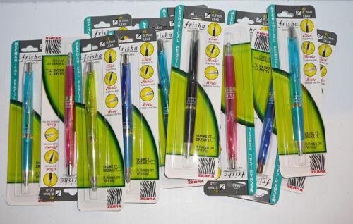 Lot Zebra Frisha Automatic Mechanical Lead Pencil 0.7 mm Self Advance