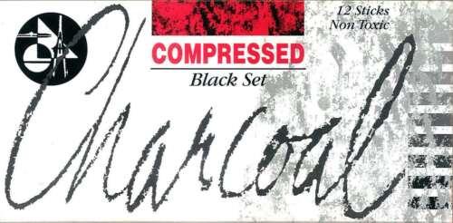 12 Set Jakar Compressed Charcoal All Black Artist Pastels Sketching Art Shading