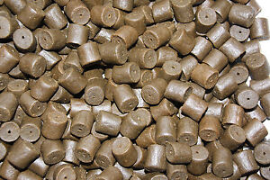 14-mm-Pre-drilled-Black-HALIBUT-Coppens-Pellets-For-Trout-Carp-amp-Coarse-Fishing