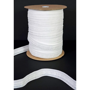 The-Bead-Shop-25mm-1-inch-Pencil-Pleat-Curtain-Header-Tape-White-Detachable