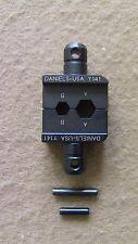 """Daniels DMC Y141 0.268/"""" Hex Crimp Tool Die Set For M22520//5-43 Tested!"""