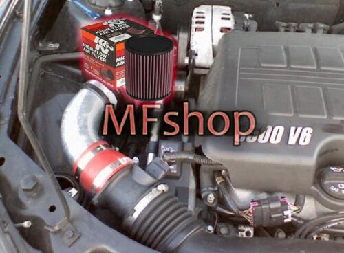 K/&N Filter For 2004-2011 Chevy Malibu 3.5L 3.6L 3.9L V6 Air Intake Kit