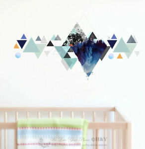 Geometric-Mountain-Wall-Sticker-Kids-Baby-Art-Nursery-Decor-Decal-Mural-Gift