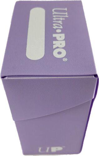 ULTRA PRO DECK BOX TRADING CARD STORAGE MTG Yugioh POKEMON HOLDS 80 CARDS
