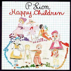 P-LION-SPAIN-7-034-CBS-1983-HAPPY-CHILDREN-PROMO-45-RPM-SINGLE-SIDED