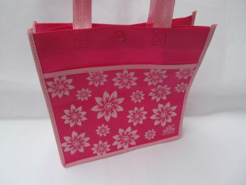 CUTE FLOWER CLOTH GIFT LUNCH SHOPPING LADIES GIRLS SHORT HANDLE HANDBAG UKSELLER