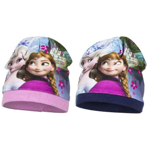 Disney Frozen Die Eiskönigin Wintermützen Anna/&Elsa  Gr.52-54
