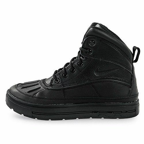 3791b0e1ef8847 Nike ACG Woodside 2 High BOOTS Black out Older Boys Size 5 for sale online