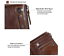 Men-039-s-Genuine-Leather-Cowhide-Bifold-Wallet-Credit-Card-ID-Holder-Zipper-Purse thumbnail 12