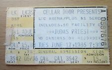 1986 JUDAS PRIEST DOKKEN LAKELAND FLA CONCERT TICKET STUB DEFENDERS OF THE FAITH