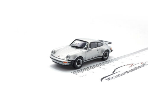 1977-1:87 #870066102 Minichamps Porsche 911 Turbo Silber
