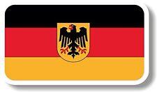 Vinyl sticker/decal Medium 120mm Germany crest flag