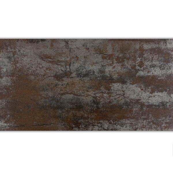 Feinsteinzeug Bodenfliese Bronx Metall Optik Bronze 30x60cm - 1,44m²