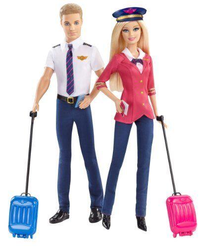Mattel Mattel Mattel Barbie Careers Barbie and Ken Doll Giftset 2-Pack 3ee909