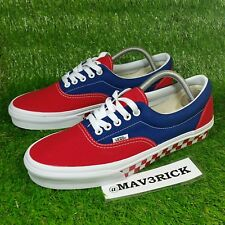 b13a60c990e1 item 5 Vans Authentic Era Classic (Men s Size 9) Canvas Skate Sneaker Shoes  Red Blue -Vans Authentic Era Classic (Men s Size 9) Canvas Skate Sneaker  Shoes ...