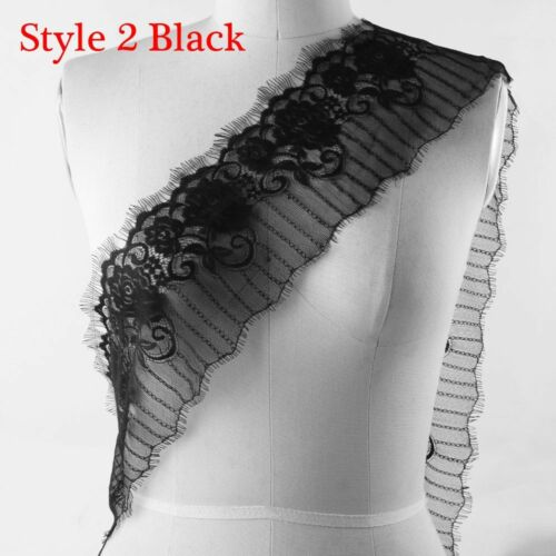 3 Yards Floral Eyelash Lace Trim Dress Making Decoration