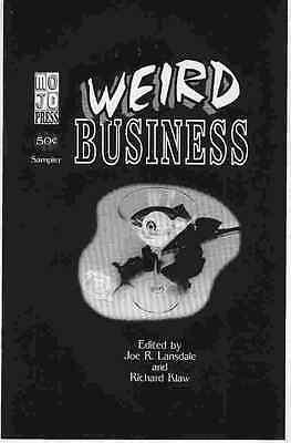Weird Business Preview (ashcan Edition) (usa, 1994)