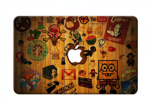 Pattern Paint Laptop Hard Case+Keyboard Cover For Macbook Air// Pro 1113 15retina