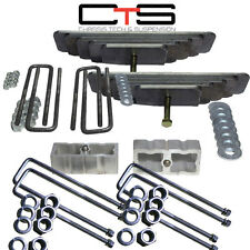 """99-04 FORD F250 3.5"""" Front 3"""" Rear Leveling liftkit F250 SQUARE DANA AXLE UBOLTS"""