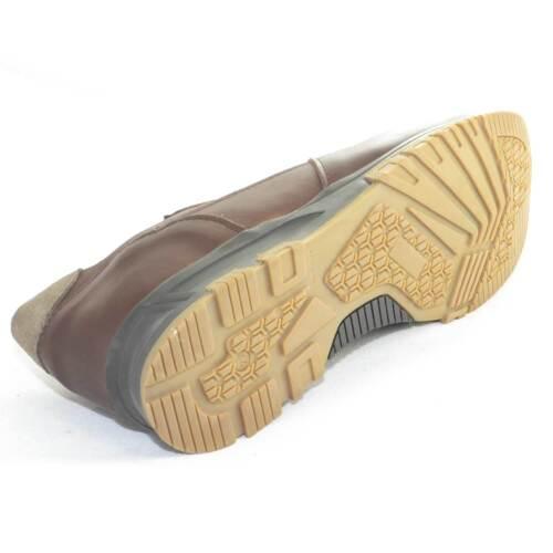 Pelle E In Italy Vera Uomo Linea Comf Scarpe Made Scamosciata Bicolore Calzature qn1YI8t