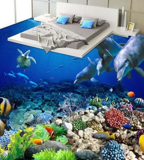 3D Sea World 10 Floor WallPaper Murals Wall Print Decal 5D AJ WALLPAPER