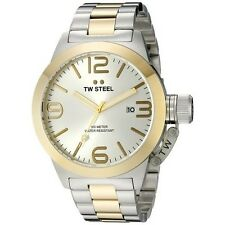 TW STEEL Canteen 50mm Gold Gents Watch CB32 - RRP £349 - BRAND NEW