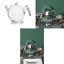 Bredemeijer-1-5-L-Stainless-Steel-Teapot-Bella-Ronde-with-Chromium-Fittings-Sil miniatuur 1