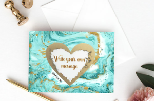 Will-You-Be-My-Bridesmaid-MOH-Wedding-Card-Gold-Heart-Personalised-Scratch-U7